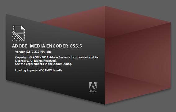 Adobe's Media Encoder CS5.5